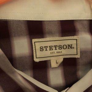 Stetson Shirts - Stetson men's button down